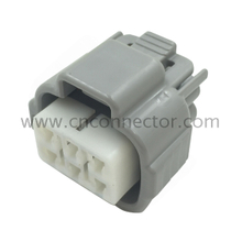 6189-0323 2.30mm 090 pitch female sealed Gray connector 6 way