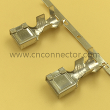 Brass Wholesale Electrical Female Automotive Wire Connector Terminals 8100-0452
