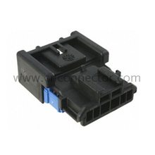 (98825-1061) black 6 pin male automotive plastic electrical cable housing connector