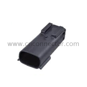 2 pole male car electrical connector 33481-0201